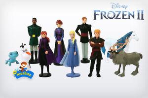 New Disney FROZEN 2 Cake Toppers / 10 Figures