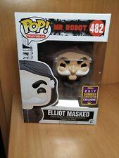 Funko pop Elliot Masked 482 Mr. Robot sdcc 2017 limited rare