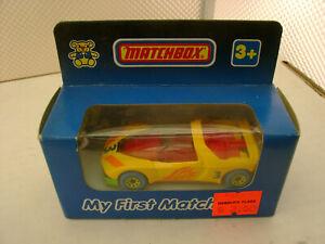 1990 MY FIRST MATCHBOX SUPERFAST PEUGEOT QUASAR NEW IN BOX