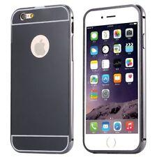Housses et coques anti-chocs noirs métalliques pour téléphone mobile et assistant personnel (PDA)