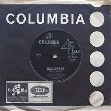 LARRY'S REBELS Halloween NZ Psychedelic Rock '68 Orig OZ 1968 Psych 45 Non-LP