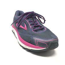 Women's Brooks Dyad 9 Walking Shoes Sneakers Size 8 Navy Purple Athletic J2