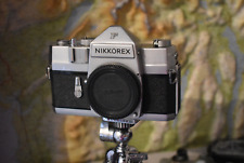 Nikkorex F. 1960 Vintage Nikon SLR camera. Tested Fully Working.