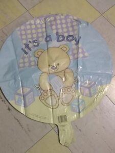 "New Baby It's a Boy or It's a Girl 18"" MYLAR FOIL BALLOON Baby Bear YOU PICK"