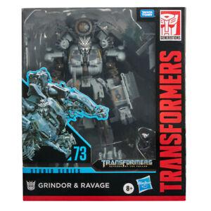 Transformers Studio Series 73 Leader Class Grindor and Ravage PRE ORDER