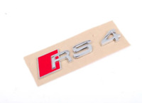 Neuf Original Audi RS4 (2006-2009) Porte Arrière Badge RS4 Emblème Logo