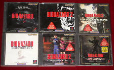 PS1 BIOHAZARD 1 2 3 GUN SURVIVOR DIRECTOR'S CUT DUAL SHOCK Ver. NTSC-J Japan