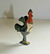 Britains Cadburys Cococubs Squire Rooster 1930's Lead Figure Rare Cococub  H228