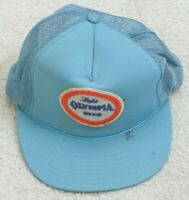 YR Olympia Beer Blue White Solid Baseball Hat Adult Men's Cap Snapback Polyester