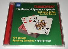 Tchaikovsky: The Queen Of Spades & Voyevoda Suite (CD, 2013) Breiner, Naxos, new