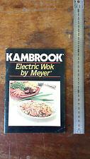 KAMBROOK ELECTRIC WOK by MEYER
