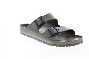 Birkenstock Arizona EVA 129491 Mens Green Synthetic Flip-Flops Sandals Shoes