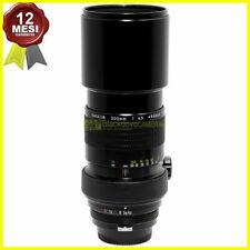 Obiettivo Nikon Tele Nikkor 300 mm f4,5 per fotocamere reflex a pellicola pre AI