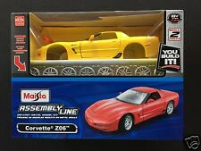 Maisto Assembly Line 1/24(≅1/25) kit#01033:Chevrolet CORVETTE (C5) Z06 Coupe