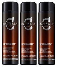 CATWALK by TIGI Fashionista Brunette Conditioner for Warm Tones 3X 250ml Bottles
