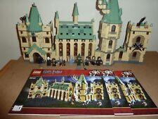 LEGO HARRY POTTER 4842 HOGWARTS CASTLE COMPLETE ALL 11 FIGS INSTRUCTIONS V G C