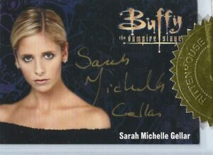 Buffy Ultimate Collection Series 3 Sarah Michelle Gellar Gold Autograph Card