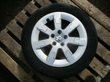 2009-14 VW POLO 6R 5 STUD 15'' ALLOY WHEEL AND TYRE 185/60R15