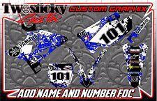 YAMAHA YZF YZ 125/150/250/450  MOTOCROSS MX GRAPHICS STICKERS   ALL YEARS