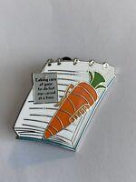 Stocking Stuffers Judy Hopps Carrot Taking Care To Do List Disney Pin LE (B5)