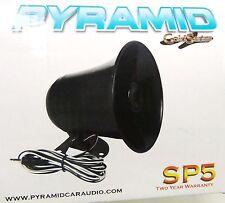 PA Speaker - Black - 3.5mm plug - Fits MOST CB Radios and many Marine Radios NEW