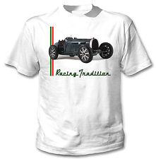 Bugatti TIPO 51 1934 ispirato 11-NUOVA Graphic T-Shirt S-M-L-XL - XXL