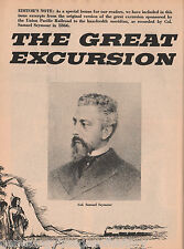 "Union Pacific Railroad ""The Great Excursion"""