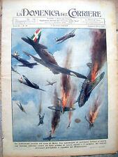 337) 1940 CACCIA ITALIANI ASSALTANO L'ISOLA DI MALTA DOMENICA DEL CORRIERE