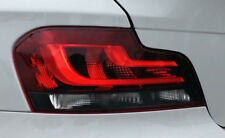 BMW E82 E88 1 Series European Black Line Taillights For 2007-2009 Models NEW