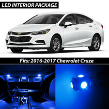 2016-2017 Chevrolet Cruze Blue Interior LED Lights Package Kit