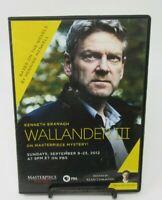 WALLANDER III - PRESS REVIEW DVD, KENNETH BRANAGH, MASTERPIECE MYSTERY, GUC