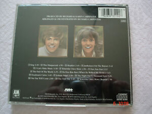 CD *Now & Then* - Carpenters - 15 tracks