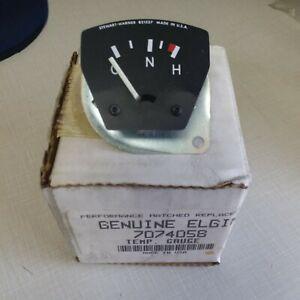 NOS GENUINE ELGIN TEMPERATURE GAUGE 7074058