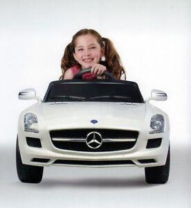 OFFICIAL LICENSED MERCEDES SLS AMG KIDS ELECTRIC RIDE ON CAR TOY REMOTE CONTROL