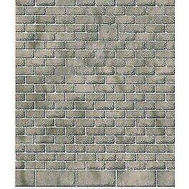 Metcalfe PN901 N Gauge Cut Stonework M1 Style Card Sheets