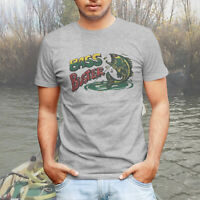 Bass Buster Fishing Derby Vintage Retro Logo Mens Tee T-Shirt or Trucker Hat