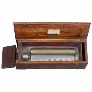 Musical box Paris L'Epee c. 1860 Norma Il Trovatore VERDI