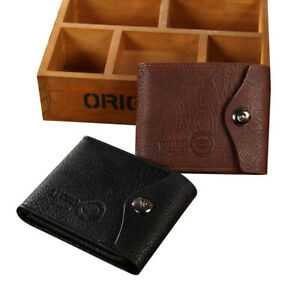 PU Leather Vintage Men Wallets Coin Pocket Hasp Small Wallet Purse Card Holders