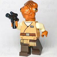 New Star Wars LEGO® Admiral Ackbar Mon Calamari Resistance Minifigure 75140
