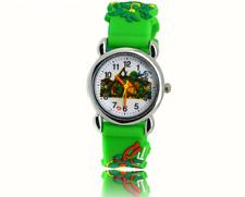 Montre à quartz Tortues Ninja vert Enfant Fille Garçon green Ninja Turtles Watch