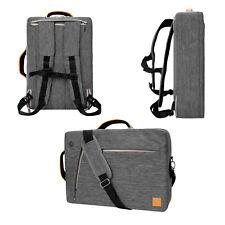 VanGoddy Gray 3 in 1 Backpack Messenger Bag for Apple MacBook Pro / Air 15''