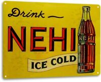 NEHI Cola Vintage Retro Tin Metal Sign