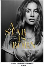 RARE POSTER lady gaga A STAR IS BORN limited 2018 REPRINT #'d/100!! 12x18