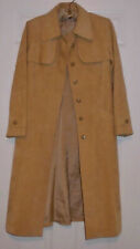 Vintage 1970s Neiman-Marcus Ultrasuede Belted Lined Trench Coat Camel for Fall
