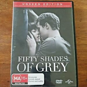 Fifty Shades of Grey Unseen Edition + Digital DVD R4 Like New! – FREE POST