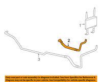 GM OEM Transmission Oil Cooler-Inlet pipe 15808251