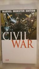Marvel Monster Edition 21 Civil War 3 TPB  / 2007 Panini  RARE !!!