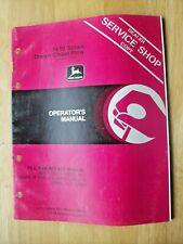 John Deere 1610 Series Drawn Chisel Plow Operators Manual Om N200020