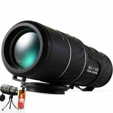 Optic Lens Monocular Dual Focus Multi Coating Day Night Vision Telescope 50x52