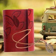 Portable Retro Journal Memo Dream Notebook Paper Notepad Leaf Blank Diary WR KJ